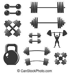 A set of sports equipment