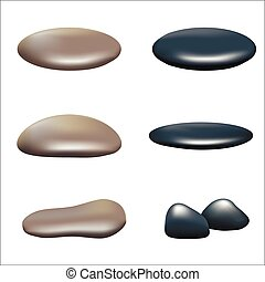 A set of stones