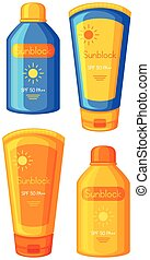 A Set of Sunblock
