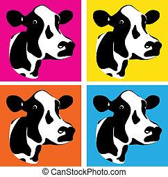 cow heads