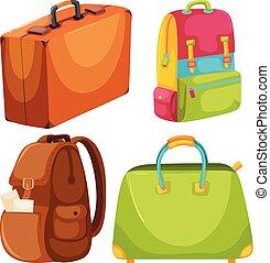 A Set of Travel Bag