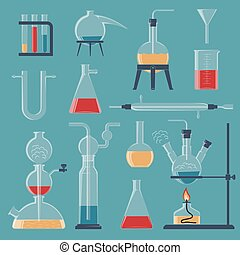 chemical glassware and devices