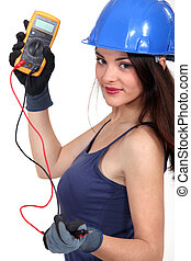 A sexy electrician.
