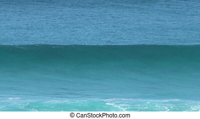 A shot of waves