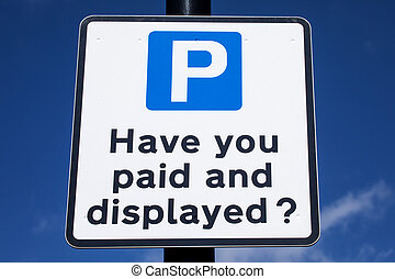 Pay and Display Car Park