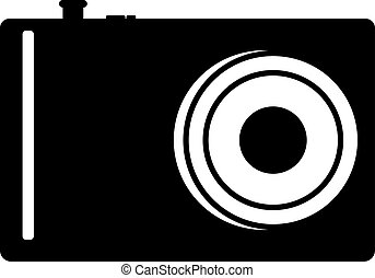 A sign of the camera that is ideal for your design