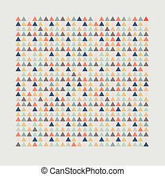 A simple background. Grey background with triangular...