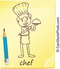 A simple sketch of a chef