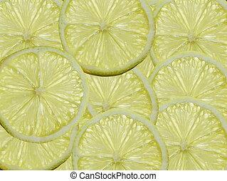 A slices of Lemon