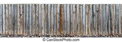 A small beach fence