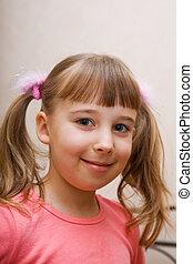 A small girl portrait
