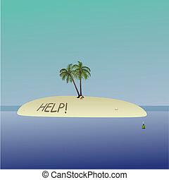 A small island with no escape