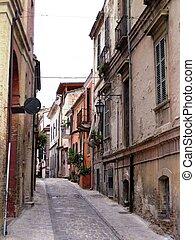 A small street , Italy