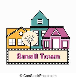A small town