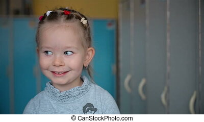 A smile is very beautiful girl