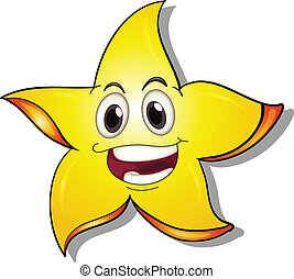 A smiling star