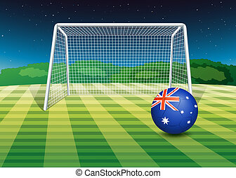 A soccer ball from Australia