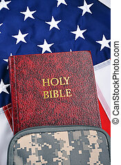 A Soldier Bible.