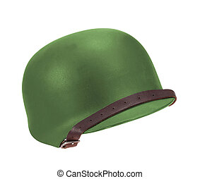 A Soviet military helmet
