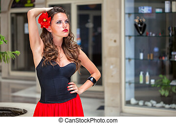 A spanish woman