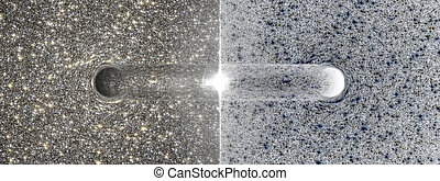 A speculative Big Bang at the transition between a black and white hole.