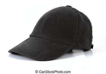 sports cap on a white background