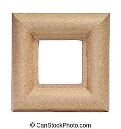 paper-mache frame