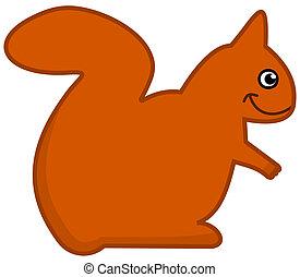 a squirrel icon