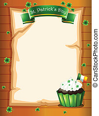 A St. Patrick's day stationery