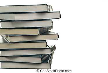A stack of new books similar