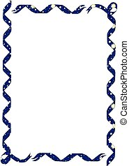 Star Ribbon Border