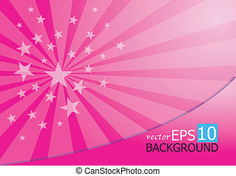 A starburst background - Background for the accompanying art...