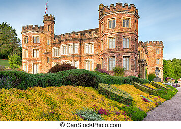 A Stately Home - An English stately home in the style of a...