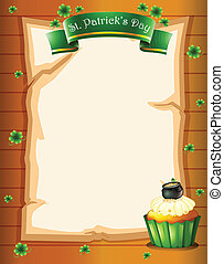A stationery design for St. Patrick's day