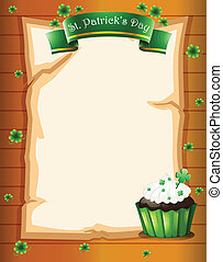 A stationery designed for St. Patrick's day