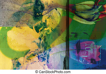 A stock photo of an abstract style image