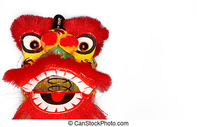 A stock Photograph of a Chinese Red Dragon.