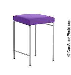 A stool isolated on a white background
