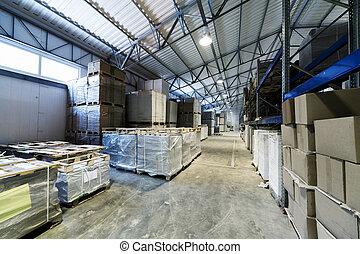 a storage of goods