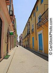 A street in Old Havana