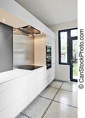 stylish modern kitchen interior