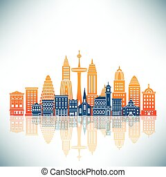 A Stylized City