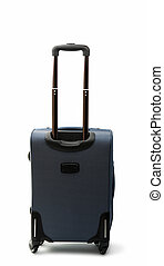 a suitcase with wheels