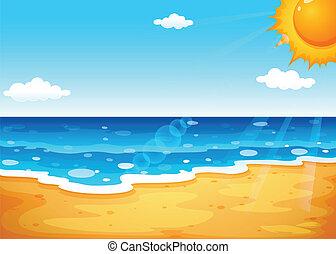 A summer at the beach