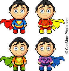 A Super Man Character - Looking Sad