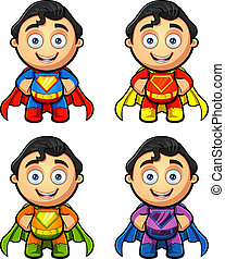 A Super Man - Hands On Hips - A super man character in 4 ...