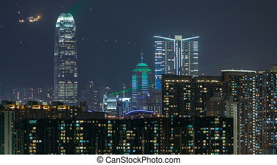 A Symphony of Lights timelapse is a synchronised building...