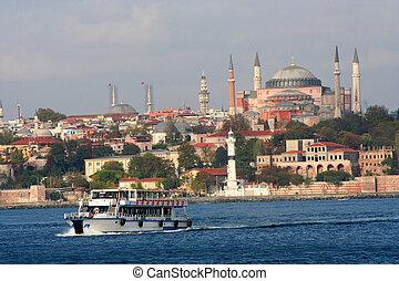 a, synhåll, från, istanbul