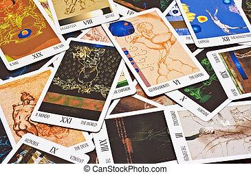 tarot cards - a tarot cards predication