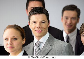 A team of businesspeople